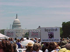 2000 Million Mom March for Gun Control